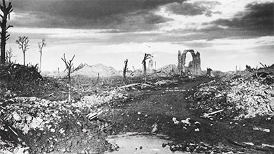 The Emblematic Ruins of War